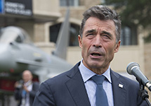 NATO Secretary General Anders Fogh Rasmussen outlined changes in the alliance security structure. NATO Nuclear Policy