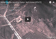 Satellite imagery of the Sohae Satellite Launch Center, North Korea.