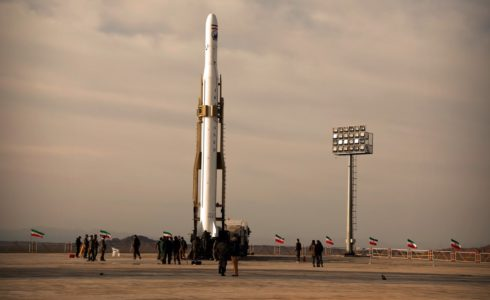 Iran's Qased SLV launch April 2020.